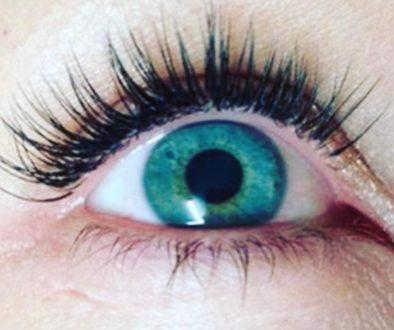 Eyelash extension enhancement