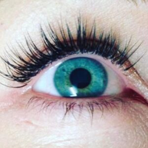 Eyelash extension enhancement